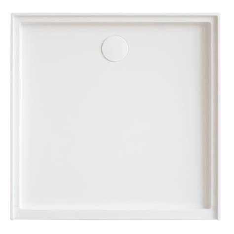 shower bath base mondella white square resonance shower base bunnings warehouse