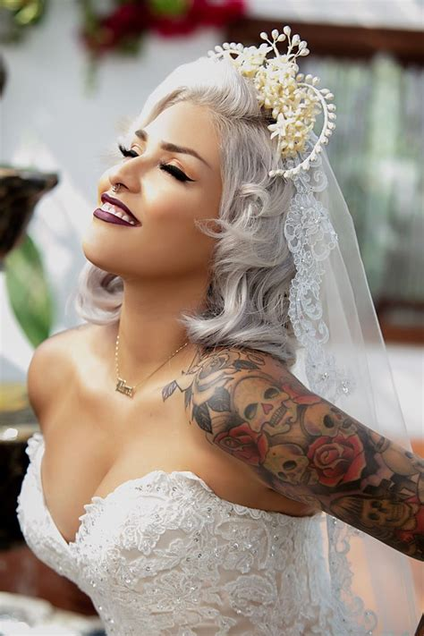 brides with tattoos 17 best ideas about on tattooed
