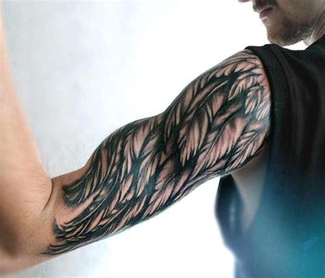 tattoo angel wings sleeve top 100 best wing tattoos for men designs that elevate
