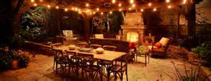 Outdoor Restaurant Lighting Patio Lighting Ideas The Garden