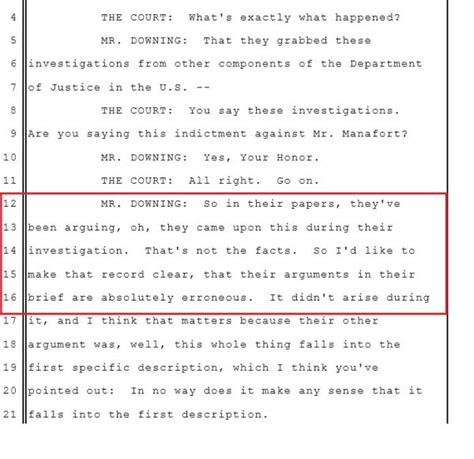 le mulier lettere muller appointment letter transcript of manafort trial