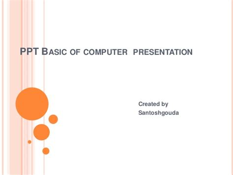 basics of computer system ppt slideshare rachael edwards