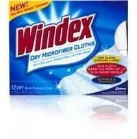 Windex To Clean Microfiber by Windex Clean Shine Microfiber Cloths