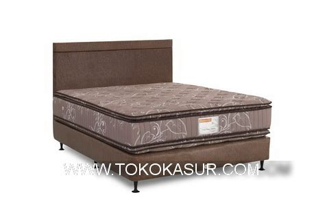 Kasur Central Pillow Top musterring master pillowtop chicago toko kasur bed murah simpati furniture