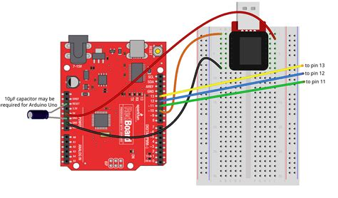 capacitor between reset and ground installing a bootloader on the microview learn sparkfun