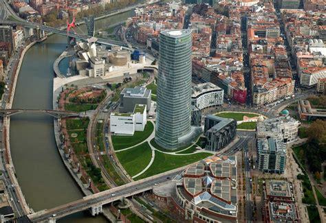 Plan Concrete by Torre Iberdrola Bilbao Travertino It