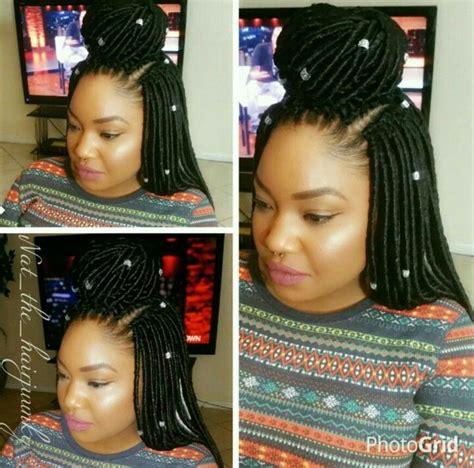 hairstyles for crochet faux locs crochet braids faux locs protective style flip