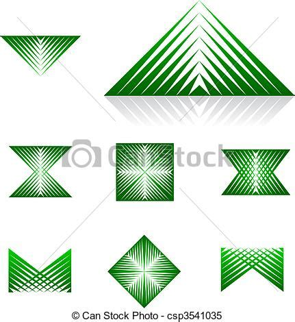 dynamic layout graphic design clipart vector of dynamic design element series 1