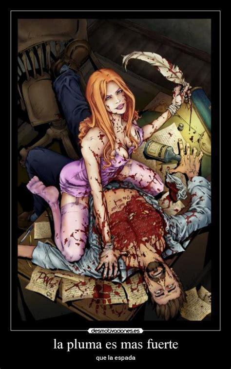 Imagenes Anime Gore Fuerte | im 225 genes y carteles de pluma pag 13 desmotivaciones