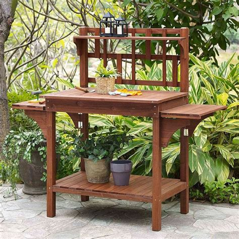 gardening work benches 17 best images about potting benches on pinterest