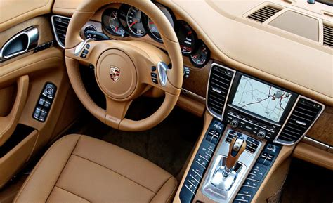 porsche panamera interior car and driver