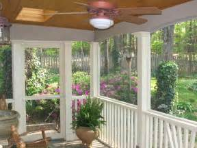 Enclosed Patio Ideas On A Budget by Screened In Porch Decorating Ideas On A Budget Screened In