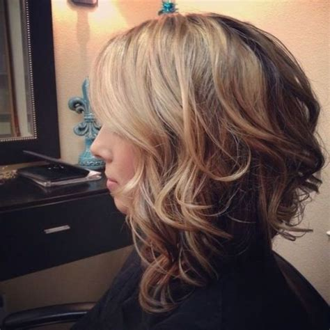 curly asymmetrical bob hairstyle asymmetrical wavy bob 2017 long wavy asymmetrical bob