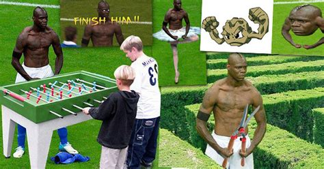 Balotelli Meme - funny mario balotelli memes the 20 best photoshopped images of his goal celebration against