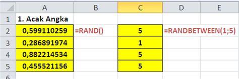 teks prosedur membuat rawon tips tips rumus excel tentang fungsi rand dan randbetween