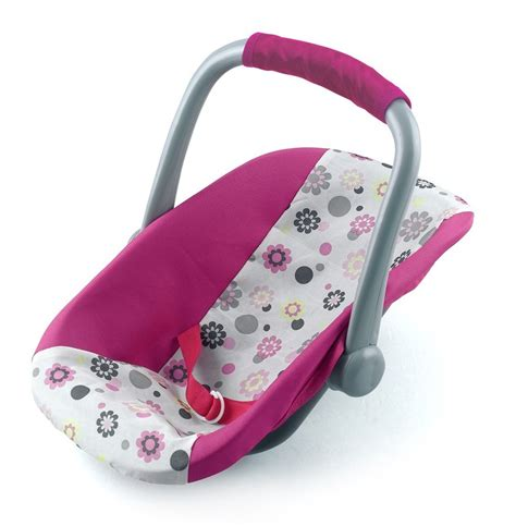 baby doll car seat carrier new dolls world car seat carrier pretend play