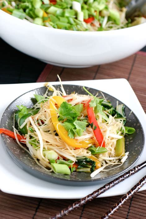 new year rice noodles eclectic recipes 187 stir fry rice noodles