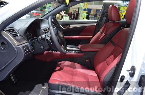lexus gsf seats lexus gs f sport 200t front seats at iaa 2015 indian