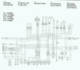 wiring diagram needed for 1990 xt600e horizons unlimited the hubb