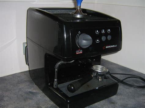 Coffee Machine Simonelli sold nuova simonelli oscar