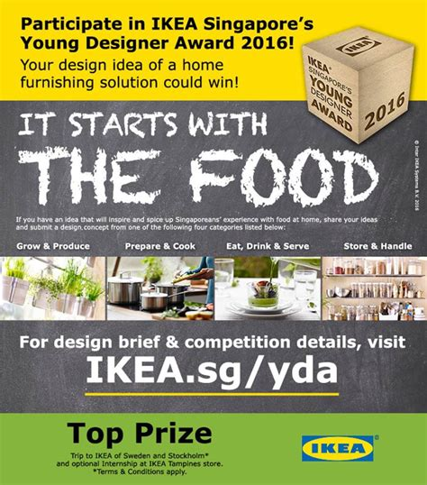 design competition singapore ikea singapore s young designer award 2016 architecture