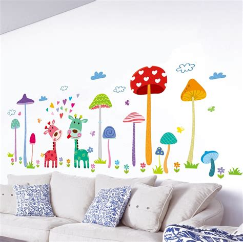 home decor wall murals forest deer home wall mural decor babies