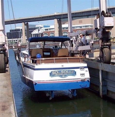 boat shrink wrap buffalo ny rare classic 36 ft 1963 chris craft roamer riviera used