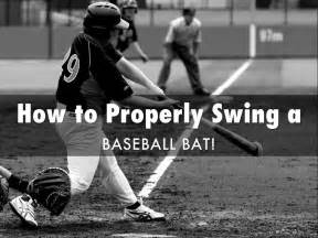 how to swing a bat correctly how to properly swing a baseball bat by pmckinney51