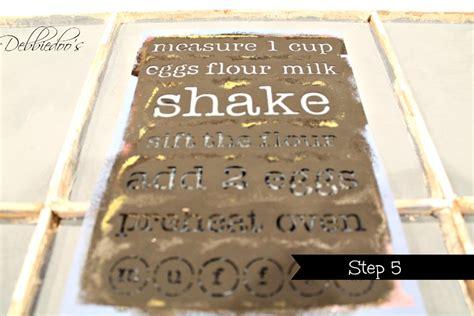 diy chalk paint debbie how to make an window into a chalkboard work of