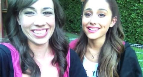 image colleen and ariana smile png ariana grande wiki