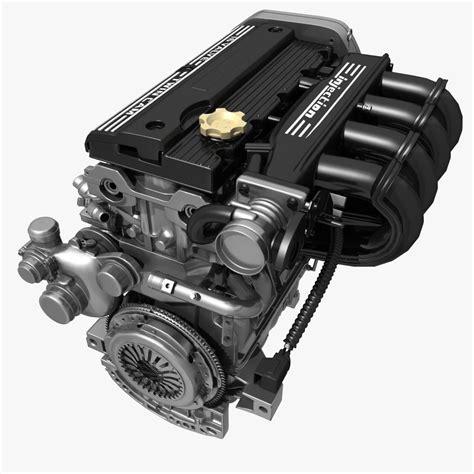 Sprei 3d Cars car 4 cylinder engine 02 3d model max fbx cgtrader