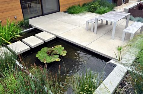 Outside Kitchen Design Ideas creating a garden pond original ideas for modern garden