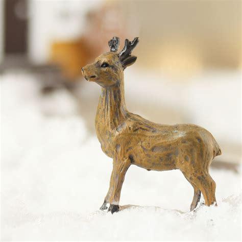 miniature resin reindeer new items