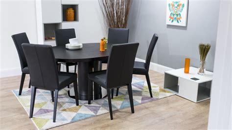 monte carlo dining room set carlo dining room set dark wood round extending dining