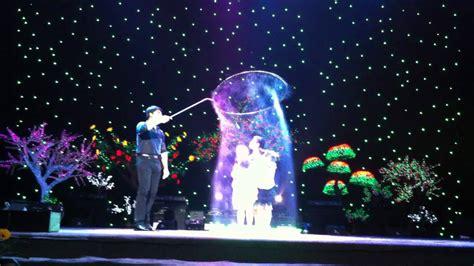 fan yang bubble show fan yang bubble show in vietnam 4 children in a big