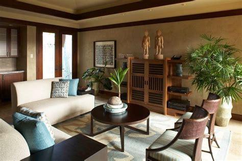 hualalai serenity asian living room hawaii