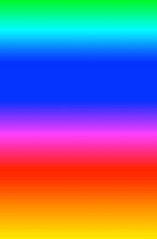 the color chagne android change color of gradient like screensaver