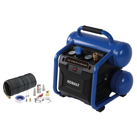 kobalt  gallon portable electric twin stack air