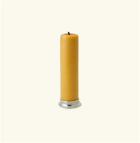Candle Base Match Pewter 2 Inch Pillar Candle Base