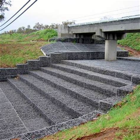 Mattress Reno by Gabions Protective Solution To Slope Mountain And Riverway