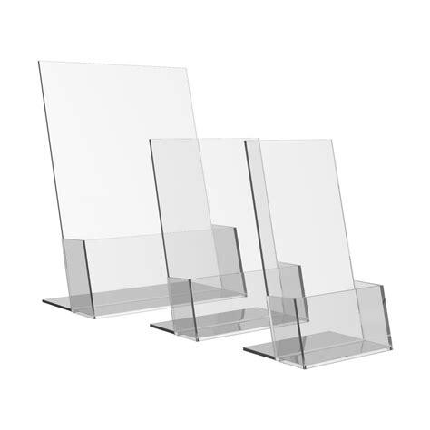 Acrylic Display Brosur acrylic brochure holders ores display systems