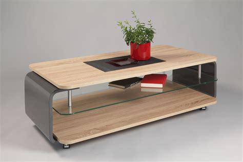Table Basse En Chene Clair