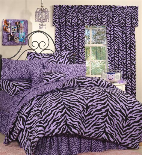 Purple Zebra Print Bedroom Decor Zebra Room D 233 Cor Ideas Decozilla