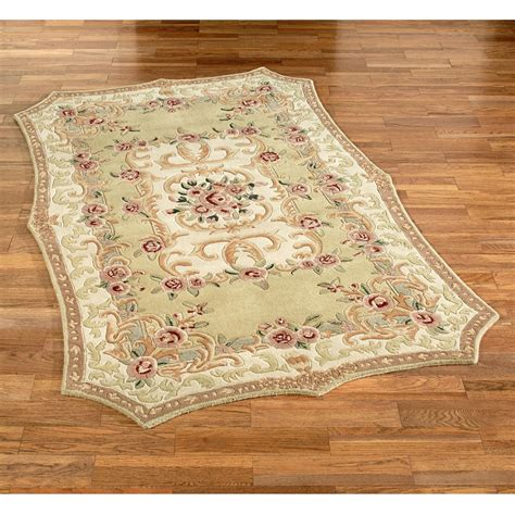 Rarea Rugs by Vintage Aubusson Area Rug