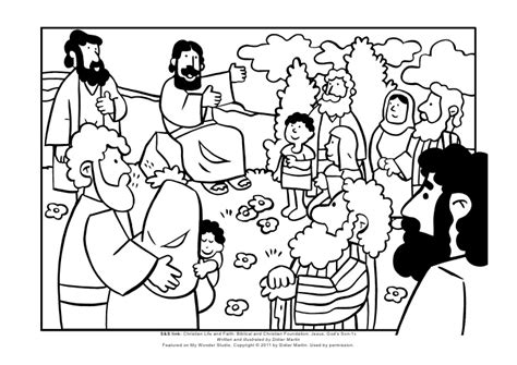 coloring pages jesus preaching coloring page the sermon on the mount