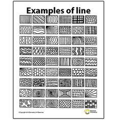 pattern made up of lines or bands lines thinglink