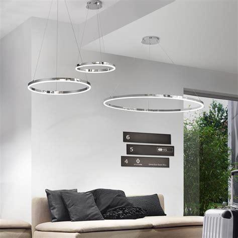 led leuchten wohnzimmer ring m led h 228 ngeleuchte 216 60 cm chrom wohnzimmer