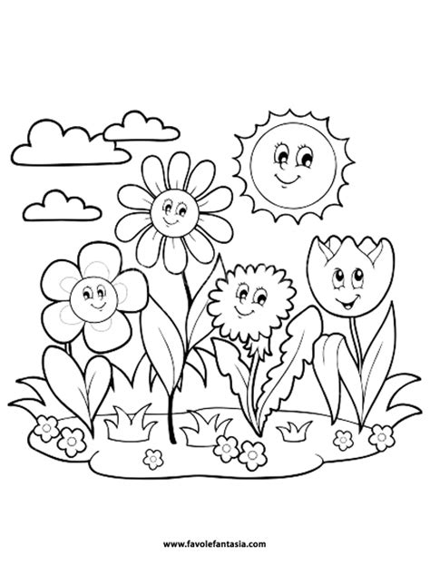 disegni da colorare fiori di primavera disegni da stare primavera omanautoawards