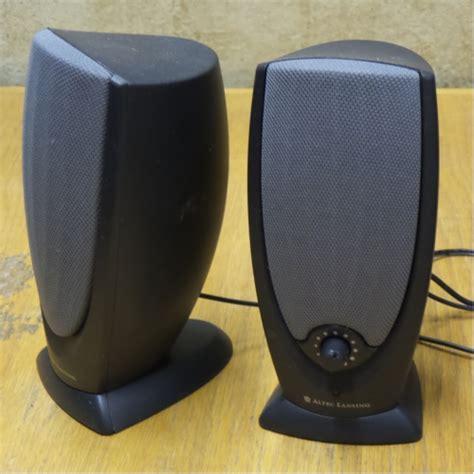 Speaker Komputer Altec Lansing altec lansing ada215 pc computer speakers allsold ca