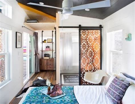 400 square foot house 400 sq ft bohemian style small house on wheels
